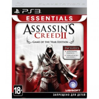 Assassin's Creed 2 Game Of The Year Edition Essentials (Русская
