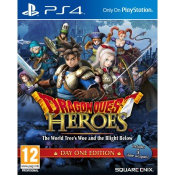 Dragon Quest Heroes The World Tree's Woe and the Blight Below (P