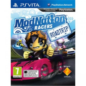ModNation Racers: Road Trip (русская версия) (PS Vita)