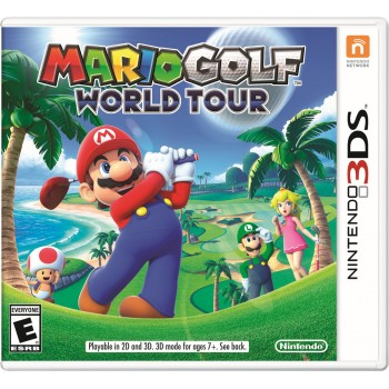 Mario Golf: World Tour (русская версия) (3DS)