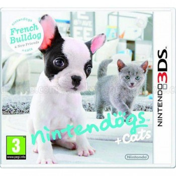 Nintendo + Cats - French Bulldog & new Friends (3DS)