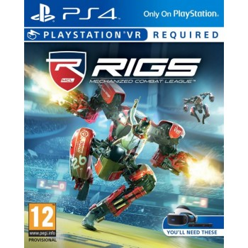 RIGS: Mechanized Combat League (PS4 VR) (русская версия)