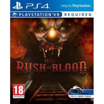 Until Dawn: Rush Of Blood (PS4 VR) (русская версия)