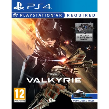 Eve Valkyrie (PS4 VR) (русская версия)