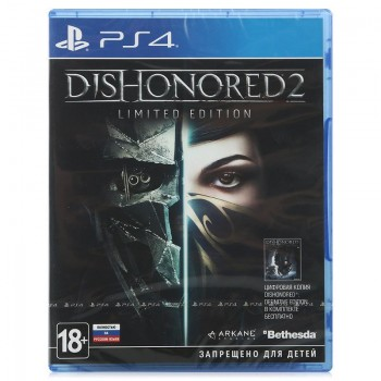 Dishonored 2 Limited Edition (русская версия) (PS4)