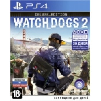 Watch Dogs 2. Deluxe Edition (русская версия) (PS4)