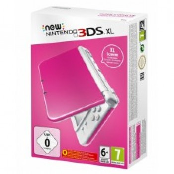 New Nintendo 3DS XL (Pink-White)