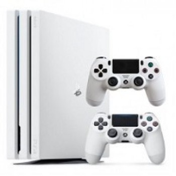 PS 4 PRO 1TB + 2-ой джойстик (CUH-7116B) White / Original SONY