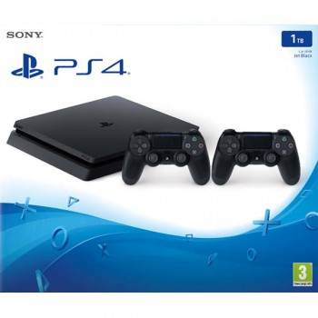 PS4 Slim 1TB (CUH-2116B)  +2 Dualshock 4 V2 New / Original SONY