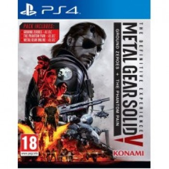 Metal Gear Solid 5: Definitive Experience ( ч. на одном TV, ч. Online) рус. PS4