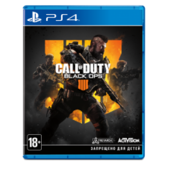 Call of Duty: Black Ops 4 ( ч. на одном TV, ч. Online) рус. PS4