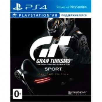 Gran Turismo Sport Day One Edition ( ч. на одном TV, ч. Online) PS4