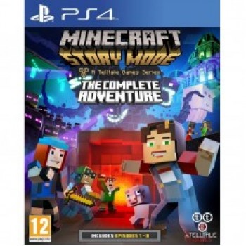 Minecraft Story Mode The Complete Adventure (русская версия) (PS4)