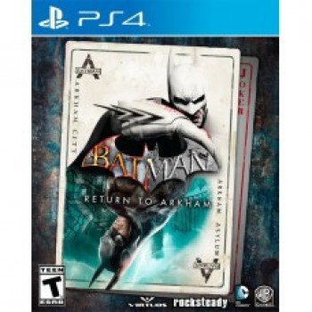 Batman: Return to Arkham (русская версия) (PS4)