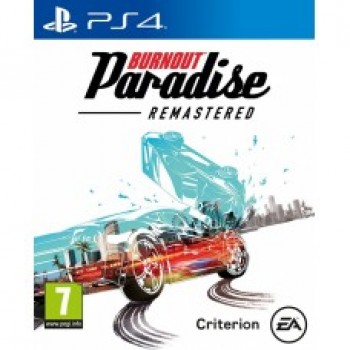 Burnout Paradise Remastered ( ч. на одном TV, ч. Online) рус. PS4