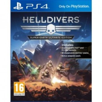 Helldivers: Super-Earth Ultimate Edition ( ч. на одном TV, ч. Online) рус. PS4