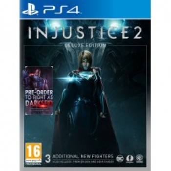 Injustice 2 Deluxe Edition ( ч. на одном TV, ч. Online) рус. PS4