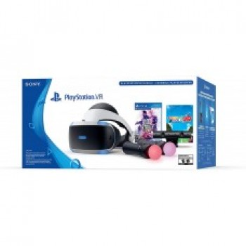 PlayStation VR v.2 (CUH‐ZVR2) + Camera v.2 + игра VR Worlds + 2 PlayStation Move  / Original SONY