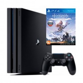 PlayStation 4 PRO 1TB + Horizon Zero Down. Complete Edition / Original SONY