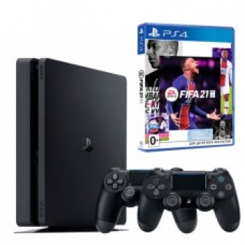 Sony PlayStation 4 Slim 1 TB + Dualshock 4 v.2 + FIFA 21 / Original SONY