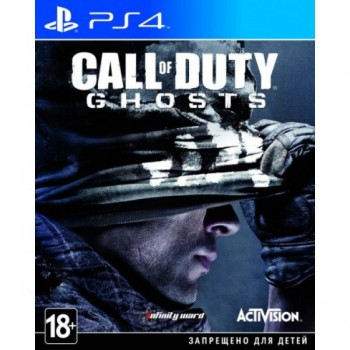 Call of Duty: Ghosts ( ч. на одном TV, ч. Online) рус. PS4