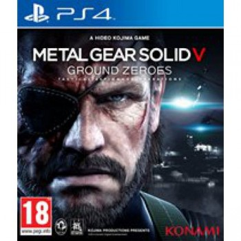 Metal Gear Solid V: Ground Zeroes ( ч. на одном TV, ч. Online) PS4