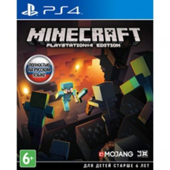 Minecraft: PlayStation 4 Edition ( ч. на одном TV, ч. Online) рус. PS4