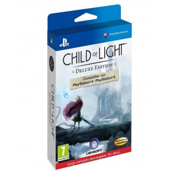 Child of Light. Deluxe Edition ( ч. на одном TV, ч. Online) PS4