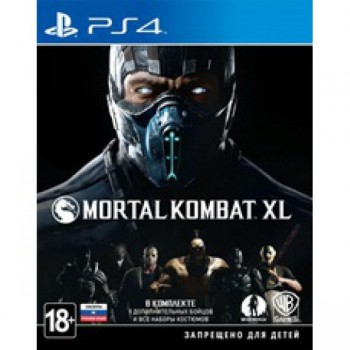 Mortal Kombat XL ( ч. на одном TV, ч. Online) рус. PS4