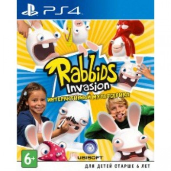 Rabbids Invasion (русская версия) (PS4)