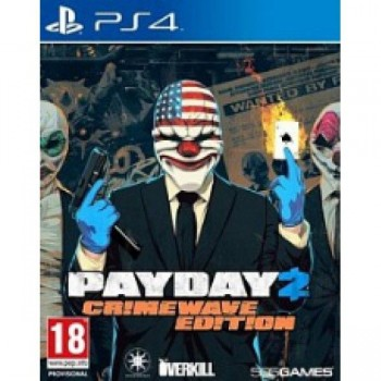 Payday 2 Crimewave Edition ( ч. на одном TV, ч. Online) PS4