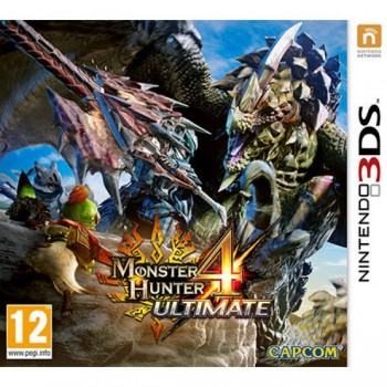 Monster Hunter 4 Ultimdte (3DS)