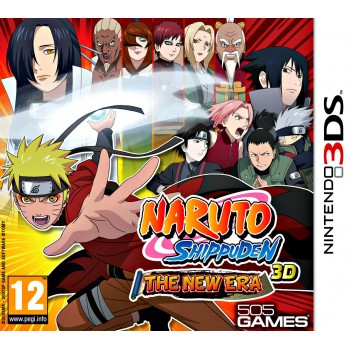 Naruto shippuden 3D - the New Era (3DS)