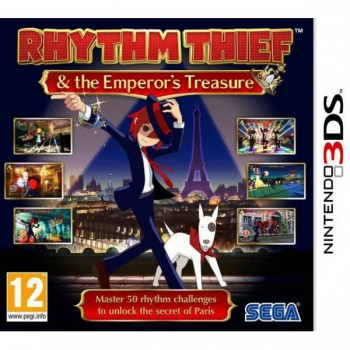 Rhythm Thief & Emperor's Treasure (3DS)