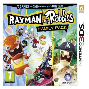 Rayman and Rabbids Family Pack (3 in 1) (3DS)