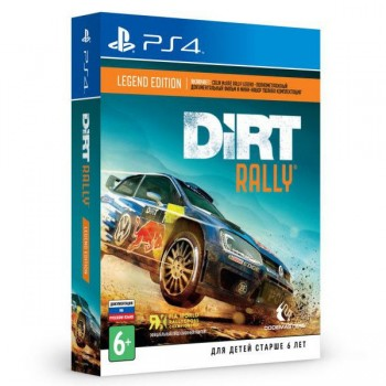 Dirt Rally Legend Edition ( ч. на одном TV, ч. Online) рус. PS4