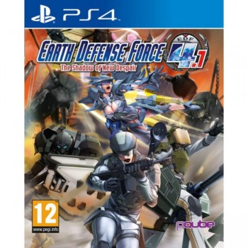 Earth Defense Force 4.1: The Shadow of New Despair ( ч. на одном TV, ч. Online) PS4