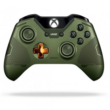 Беспроводной геймпад Microsoft Xbox One Wireless Controller Halo 5: Guardians-the Master Chief (Xbox One)