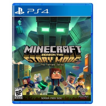 Minecraft: Story Mode - Season Two ( ч. на одном TV, ч. Online) PS4