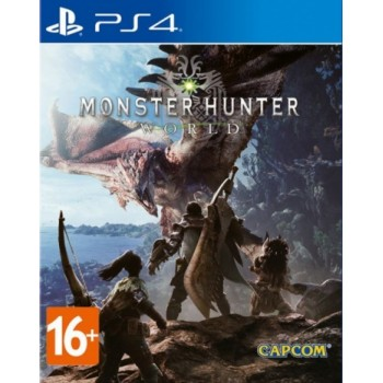 Monster Hunter: World ( ч. на одном TV, ч. Online) рус. PS4