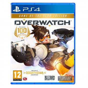 Overwatch: Game of the Year Edition ( ч. на одном TV, ч. Online) PS4