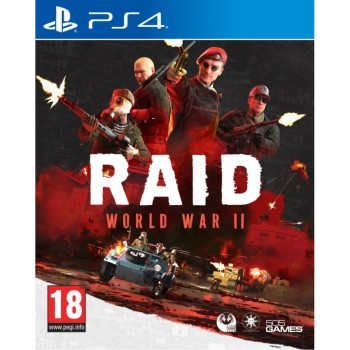 RAID: World War 2 ( ч. на одном TV, ч. Online) PS4