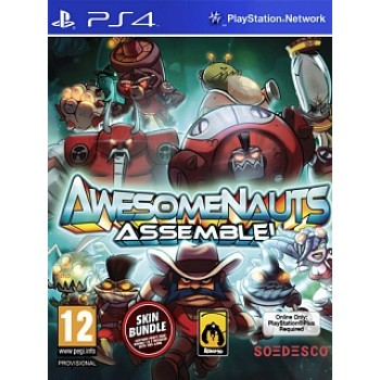 Awesomenauts Assemble (1-3 ч. на одном TV, 2-6 ч. Online) PS4