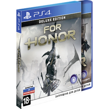 For Honor Deluxe Edition ( ч. на одном TV, ч. Online) рус. PS4