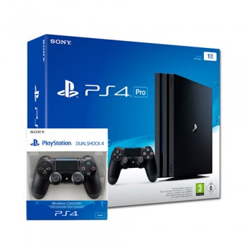PS4 PRO 1TB (CUH-7216B) +2 Dualshock 4 V2 New / Original SONY