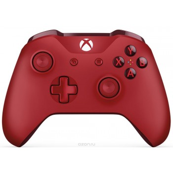 Microsoft Xbox One S Wireless Controller Красный (for windows)